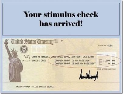 TrumpStimulusCheck